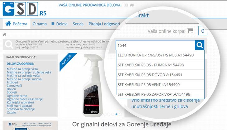GSD_pretraga_sajta_glavna